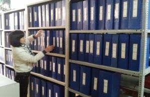 kệ để hồ sơ lưu trữ